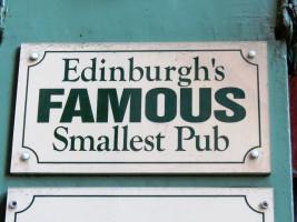 Edinburgh's Famous Smallest Pub, Edinburgh