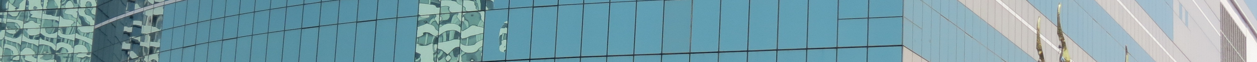 Reflections on the CAT Telecom Tower, Bangkok