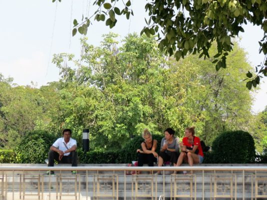 On The Banks of The Chao Phraya River